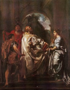 Rubens | Die Heiligen Gregor, Domitilla, Maurus und Papianus