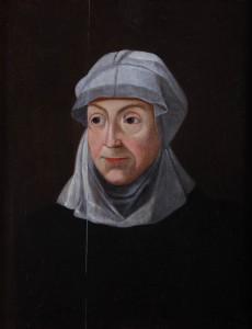 Unbekannter Maler – Juliane von Stolberg, Mutter Wilhelm I.